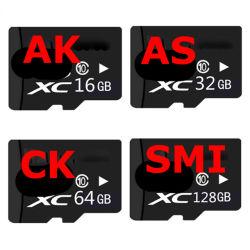 Hochgeschwindigkeits-Kategorie 10 der Ableiter-Karten-32GB 16GB Karten-reale Kapazität der TF-Karten-8GB 4GB