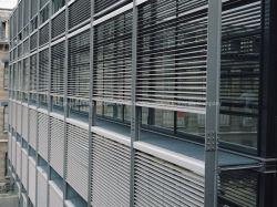 De aangepaste Luifel van het Blind van het Metaal van het Aluminium van de Ventilatie van de Zon voor Decoratieve de Buitenkant van de Muur