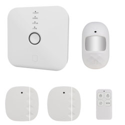 Smartlife drahtloser G/M und WiFi Hauptwarnungssystem