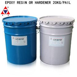 Prodotto chimico caldo 9216f materiale isolante in resina epossidica