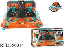 Indoor Sport Panier de Basketball double tournage Bureau de la machine de jeu de basket-ball pour les enfants