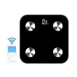 医療用製品デジタル電子 Bluetooth バスルームパーソナル計量ボディ 脂肪質の昇進のギフトは接続された BMI スケールをギフト