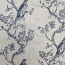 A roupa de cama e o algodão bordados tecido de revestimento para sofá, cortina e móveis