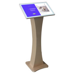 Horizontaal 55-inch 1080p multimedia scherm Interactive All in One Infrarood 10-punts Touch Kiosk draadloos Android-systeem