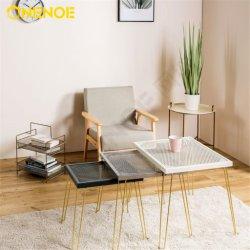 Tabella di tè moderna della maglia del metallo della mobilia di nuovo modo di disegno di Onenoe con 3 negli insiemi 1