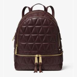 شعار مخصص PU جلد الطفو تطريز أزياء حقيبة الظهر النساء المدرسة حقيبة