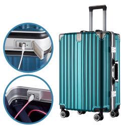Form-Gepäck-Arbeitsweg-Laufkatze-Multifunktionslaptop intelligentes USB-Aufladeeinheits-Gepäck