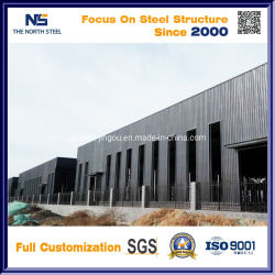 Cuidadosamente projetado SGS Estrutura de aço da estrutura de aço prefabricadas