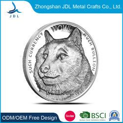 Beau Défi personnalisé durables Coin tag RFID le médaillon de l'artisanat des pièces de monnaie avec Diamond Edge design (196)