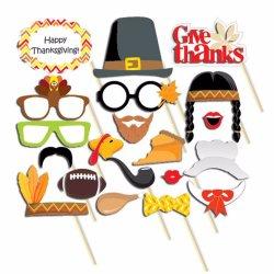感謝祭党装飾のためのブースの小道具