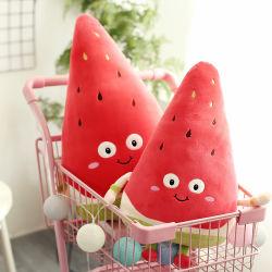Unten Baumwollwassermelone-Erdbeere-Plüsch-Spielzeug-Simulations-Frucht-Puppe-Bett-Kissen