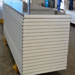방수 방열 절연 PU/폴리스티렌/EPS 샌드위치 벽면 패널(말레이시아