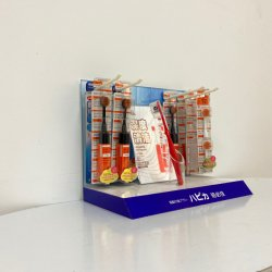 Brosse à dents en plexiglas Box/ Affichage de la soie dentaire brosse à dents d'affichage Pop/ Bureau du caissier de l'acrylique Support de brosse à dents