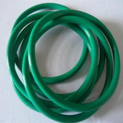 Giunto circolare di gomma di sigillamento del fluoro di verde FKM di resistenza termica