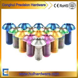 Anodisierte Torx Tasten-Kopf-Titanschrauben mit verschiedenen Farben