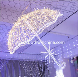 3D LED ライト傘、ウェディングデコレーション