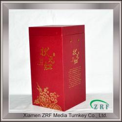 Boîte de vin de papier personnalisé à l'emballage boîte faite hors carton industriel