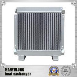 Barra de aluminio de aletas de la placa base del intercambiador de calor para secadores y enfriador de aceite del compresor