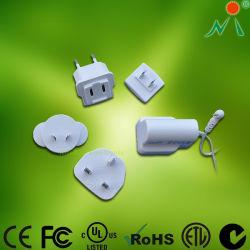 Enchufes intercambiables Adaptador de corriente para Modem