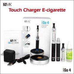 Горячая продажа коснитесь зарядное устройство E к прикуривателю Igo4 с огромным Clearomier 2.5ml CE6 паров электронных сигарет