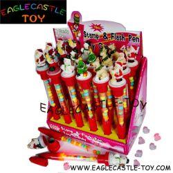 Xmas Flash штамп и перо игрушки конфеты (CXT13934)