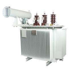 11kv de bajas pérdidas de transformadores de distribución del tipo de aceite, 33kv de la capacidad de transformador eléctrico 30 kVA a 50MVA con IEC Coc Kema SNI SABS certificado