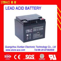 12V герметичный свинцово-кислотный аккумулятор 45AH 12V45ah (SR45-12)