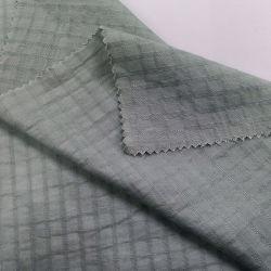 Высокое качество Клетчатую стиле с легкая Мягкая яркий жаккард ткань 113GSM хлопка пеньки шелковые ткани сочетаются цвета можно деловых обедов