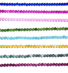 半宝石の水晶ヒスイの宝石用原石のビード(ESB01704)