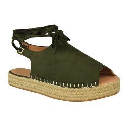 As mulheres as sandálias de plataforma de tecelagem de Verão Lace Up Precinta Abrir Toe Strappy Casual Sandálias14230 ESG