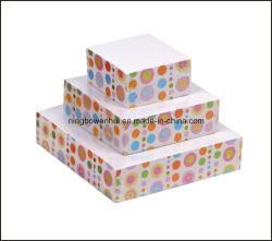 Heißer Seiten-Drucken-Pyramide-Papier-Protokoll-Würfel-Anmerkungs-Würfel des Verkaufs-4