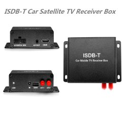 ISDB-T récepteur TV numérique par satellite mis en place la case d'Amérique du Sud