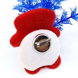 Helle glühende Brosche-Stiftdekor-Glühen-Partei-Weihnachtsgeschenke der Abzeichen-Weihnachtsmann-Rotwild-LED blinkende für Kinder
