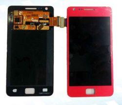 Avec écran tactile LCD assemblée pour Samsung I9100 S2