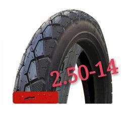 Pneus da bicicleta do pneumático/pneu/câmara de ar interna da bicicleta da borracha natural (16*3.0, 2.50-14)