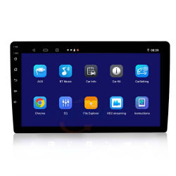 فيديو السيارة من وحدة رأس اللمس عالية الدقة 2.5D Seller 2020 Hot Seller 2.5D HD 2DIN Android CarPlay