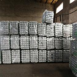 Fil de métal, alliage de zinc lingot, la Chine en alliage de prix de fabrication en usine est bon marché