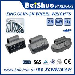 La garantía de calidad personalizado Auto Clip de zinc en la rueda Peso