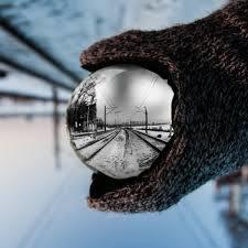 Adornos Artesanales de vidrio esfera K9 Bola de cristal