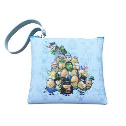 凍結するカスタム漫画はシリコーンの袋の硬貨の財布3Dの柔らかいおもちゃPVCカスタム札入れの硬貨袋をからかう