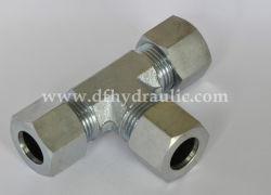 Rosca de tubo misto de aço carbono Montagem tipo T