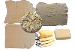 Uma verdadeira esponja de Couro e peles camurçados