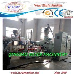 gamme de machines de l'extrudeuse en plastique pour le WPC de granules de décisions