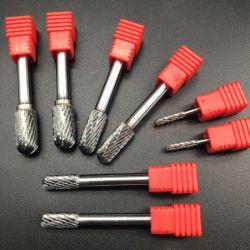 Gw Carbide-Double corte rotativa de carburo de tungsteno Burr Dia Tipo C3mm, 6mm, 8MM, 10mm de Herramientas de molienda
