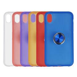 Подошва из термопластичного полиуретана Shell Anti-Scratch магнитное крепление для салона автомобиля 360 CD металлический палец кольцо TPU чехол для мобильного телефона iPhone 11 PRO случаев