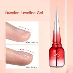 Private Label Russian Leveling Glue Nail Art Füllung Verstärkungsgel Polnisch nicht toxisch Phototherapie Gel Nail Extension UV Gel