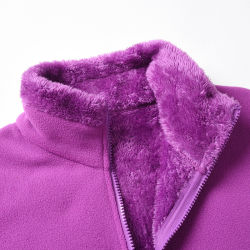 Les femmes de la vente directe d'usine Veste Veste polaire polaire doublure chaude