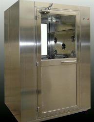 Blocco biometrico con impronte digitali Italiano richiesta vocale Clean Room Air doccia Corpo in materiale SUS 304