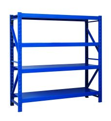 الرف القابل للضبط متوسط الخدمة تخزين/مستودع/حامل شاشة لحام الفولاذ عمليات البيع المباشر القابلة للتخصيص على الرفوف/الرفوف القابلة للتخصيص من المصنع