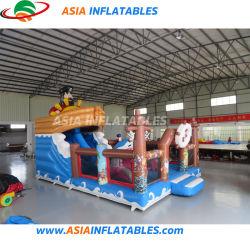 新しい設計は flatable 海賊ボートの Playground を膨脹させる